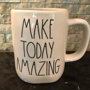 NEW Rae Dunn MAKE TODAY AMAZING Mug